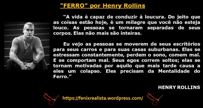 Henry Rollins - Ferro