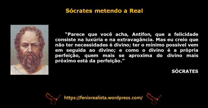 Sócrates - Sócrates metendo a Real